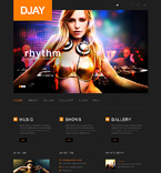 Entertainment WordPress Template 50497