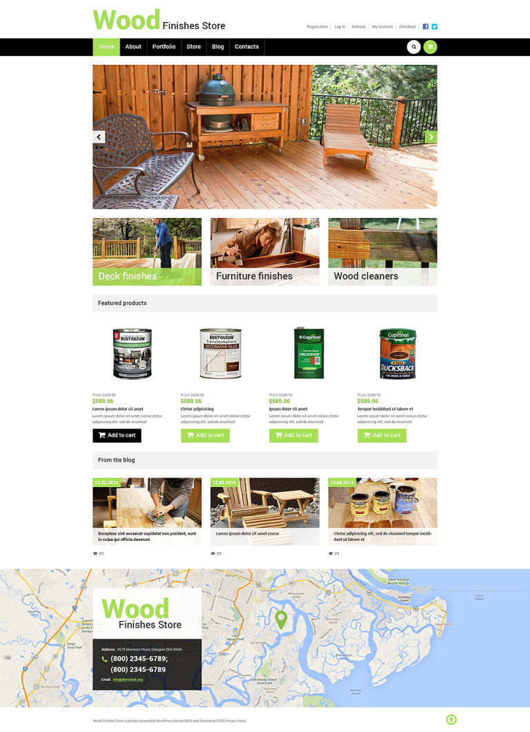 Best Wood Finishes Store WooCommerce Theme New Screenshots BIG