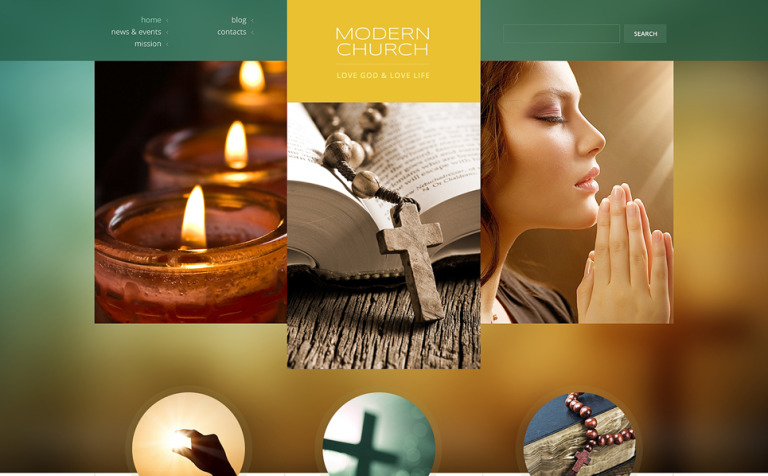 9 Spiritual WordPress Themes & Templates