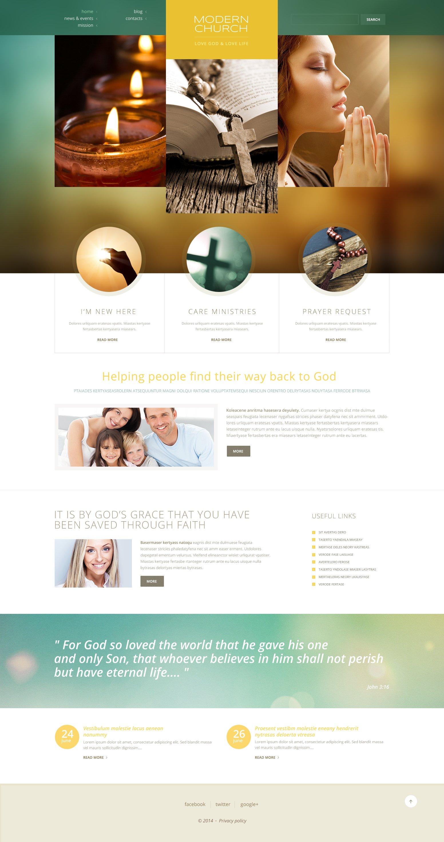 Christian Responsive WordPress Theme