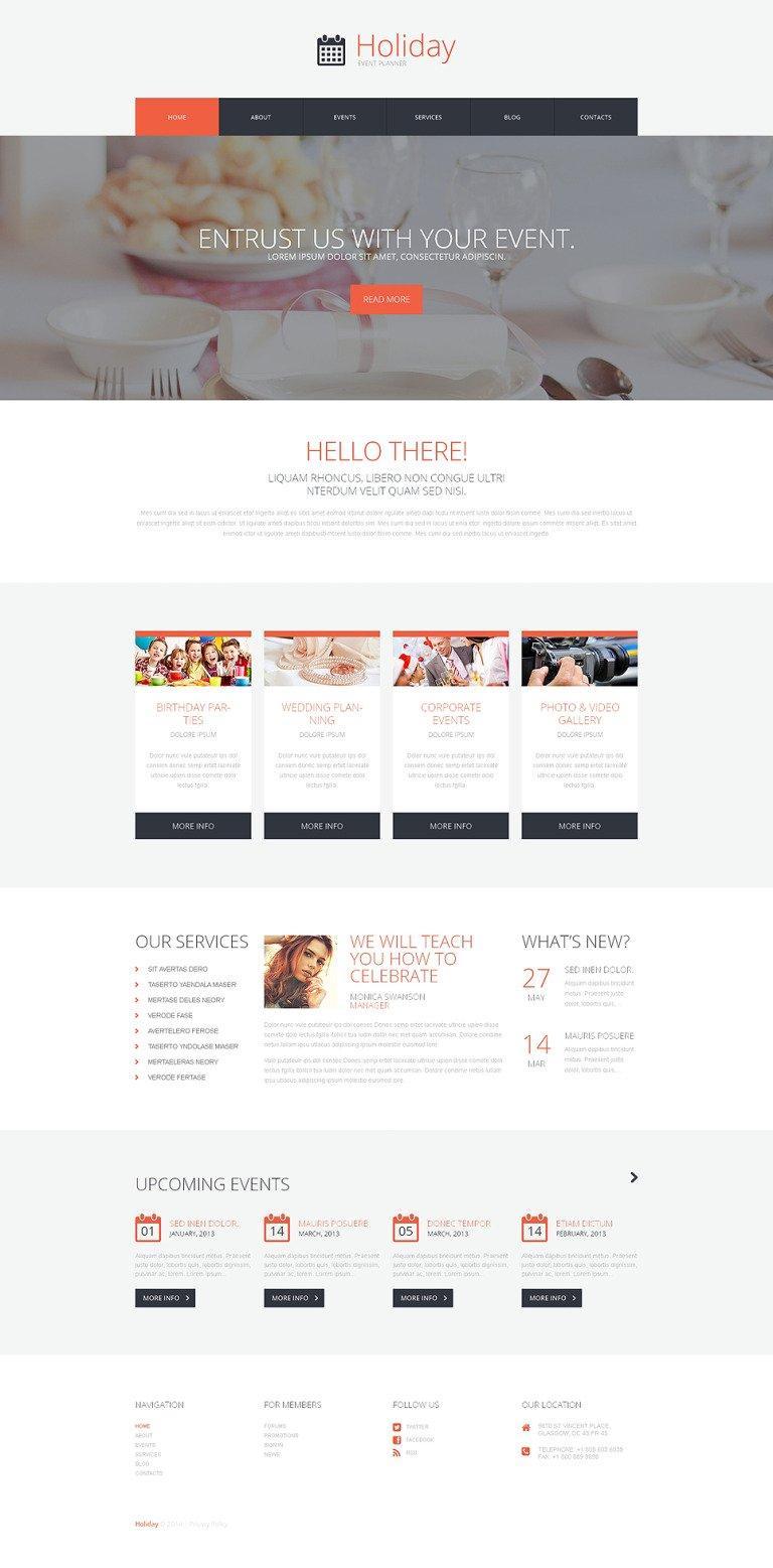 Event Planner WordPress Theme New Screenshots BIG