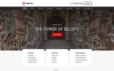 """""""Hinduism - Bautiful Religious Organisation Multipage HTML"""" Responsive Website template"""