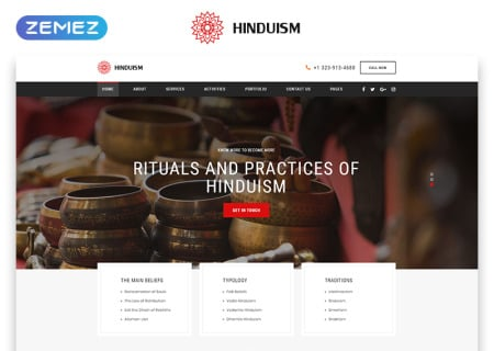 Religion Multipage HTML