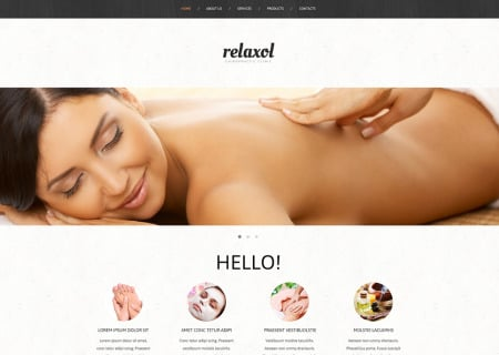 Massage Salon Responsive