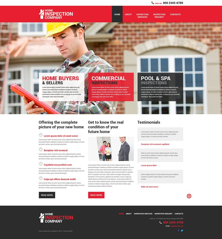 Mortgage Responsive Website Template New Screenshots BIG
