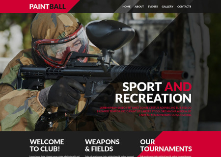 Paintball Responsive