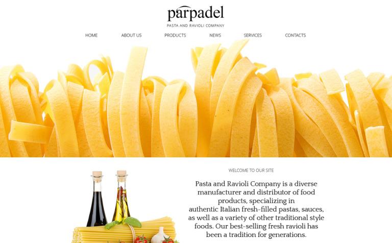 Pasta Paradise Joomla Template