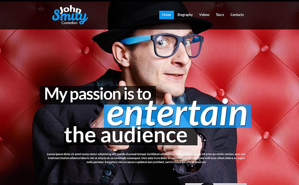 Responsywny szablon strony www #50451 na temat: strony osobiste New Screenshots BIG