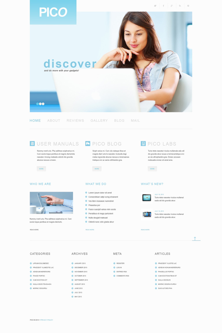 Software Responsive WordPress Theme New Screenshots BIG