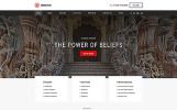 "Website Vorlage namens ""Hinduism - Bautiful Religious Organisation Multipage HTML"""
