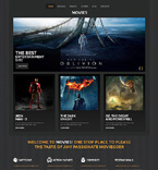 Entertainment WordPress Template 50500