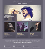 Music WordPress Template 50501