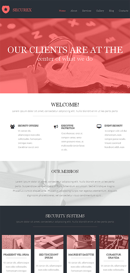 Drupal Template 50507 Main Page Screenshot