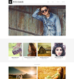 Art & Photography Drupal  Template 50508