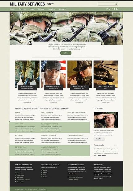 Drupal Template 50511 Main Page Screenshot