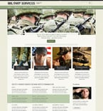 Military Drupal  Template 50511