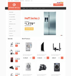 Electronics osCommerce  Template 50512