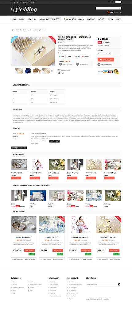 ADOBE Photoshop Template 50521 Home Page Screenshot