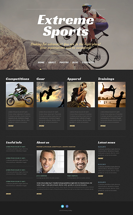 WordPress Theme/Template 50529 Main Page Screenshot