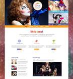 Entertainment WordPress Template 50531