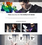 Personal Page WordPress Template 50532