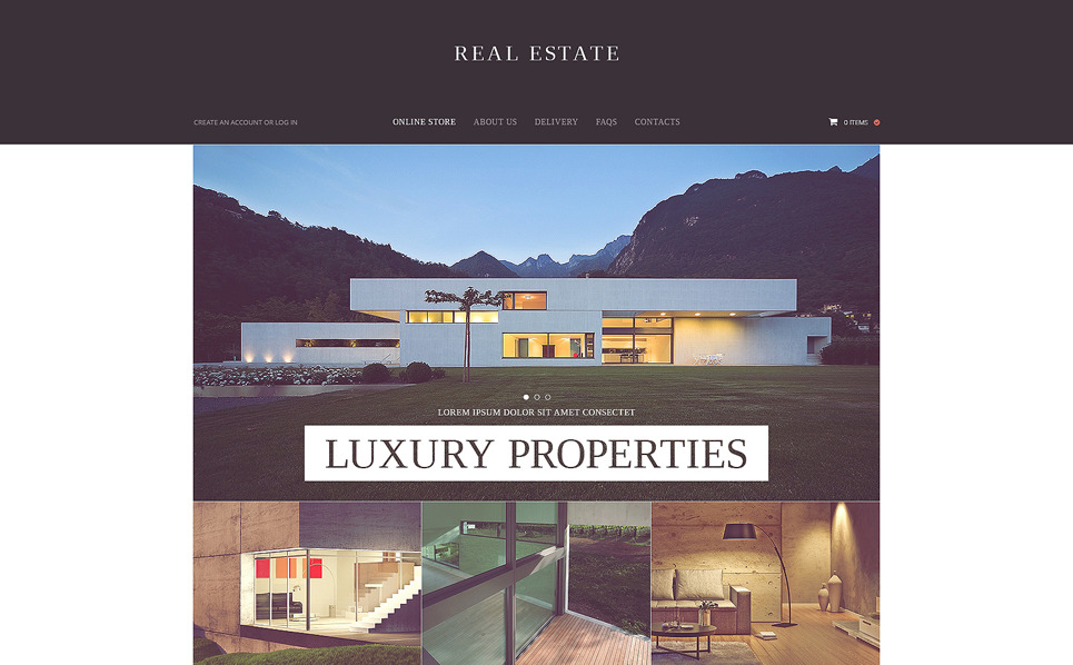 VirtueMart Vorlage für Immobilienagentur  New Screenshots BIG