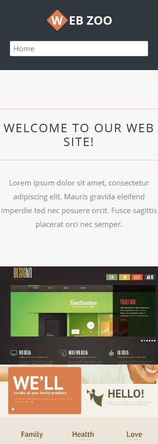 Joomla Theme/Template 50540 Main Page Screenshot