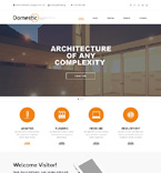 Architecture Website  Template 50551