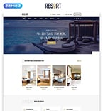 Hotels Website  Template 50553