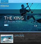 Sport Moto CMS HTML  Template 50555
