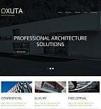 Architecture Moto CMS HTML  Template 50558
