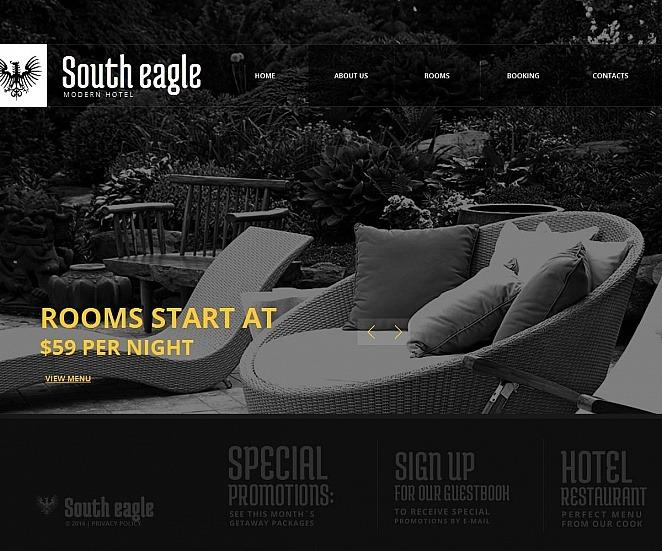 MotoCMS HTML шаблон на тему готелі New Screenshots BIG