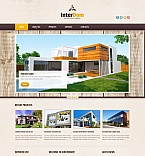 Architecture Moto CMS HTML  Template 50567