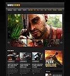 Games Moto CMS HTML  Template 50572