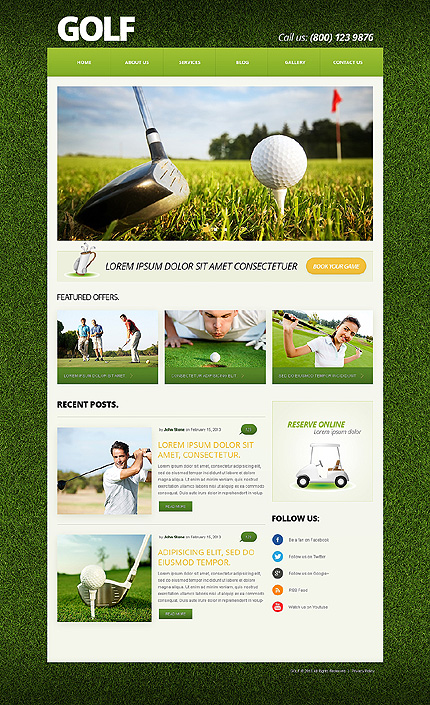 Joomla Theme/Template 50588 Main Page Screenshot