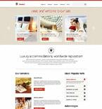 Hotels Joomla  Template 50591