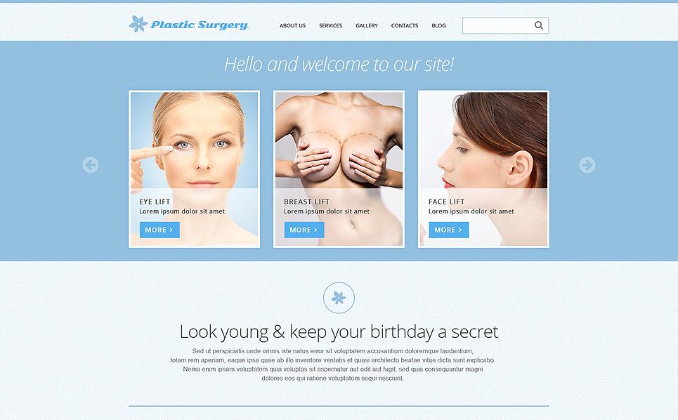 Responsive Joomla Template over Plastische Chirurgie  New Screenshots BIG