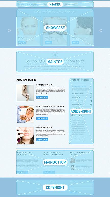 Joomla Theme/Template 50592 Main Page Screenshot