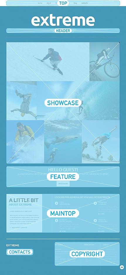 Joomla Theme/Template 50595 Main Page Screenshot
