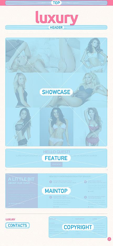 Joomla Theme/Template 50596 Main Page Screenshot