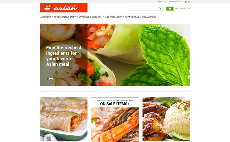 Asian Grocery PrestaShop Theme