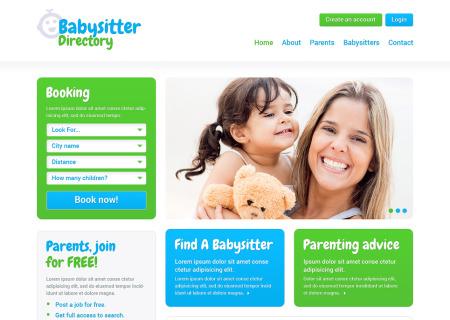 Babysitter Responsive