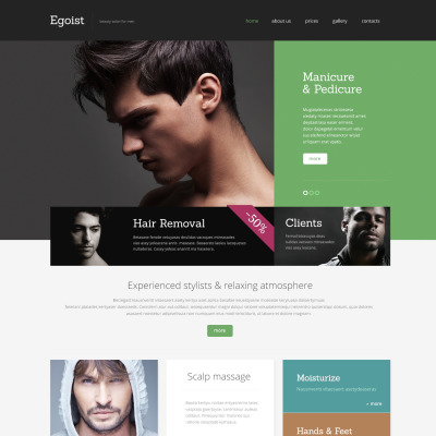 26 Best Beauty Salon Website Templates