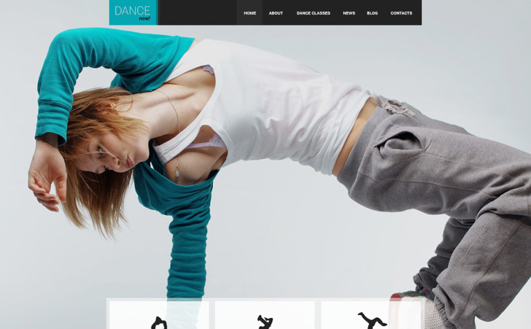 6 Dance Studio WordPress Templates & Themes