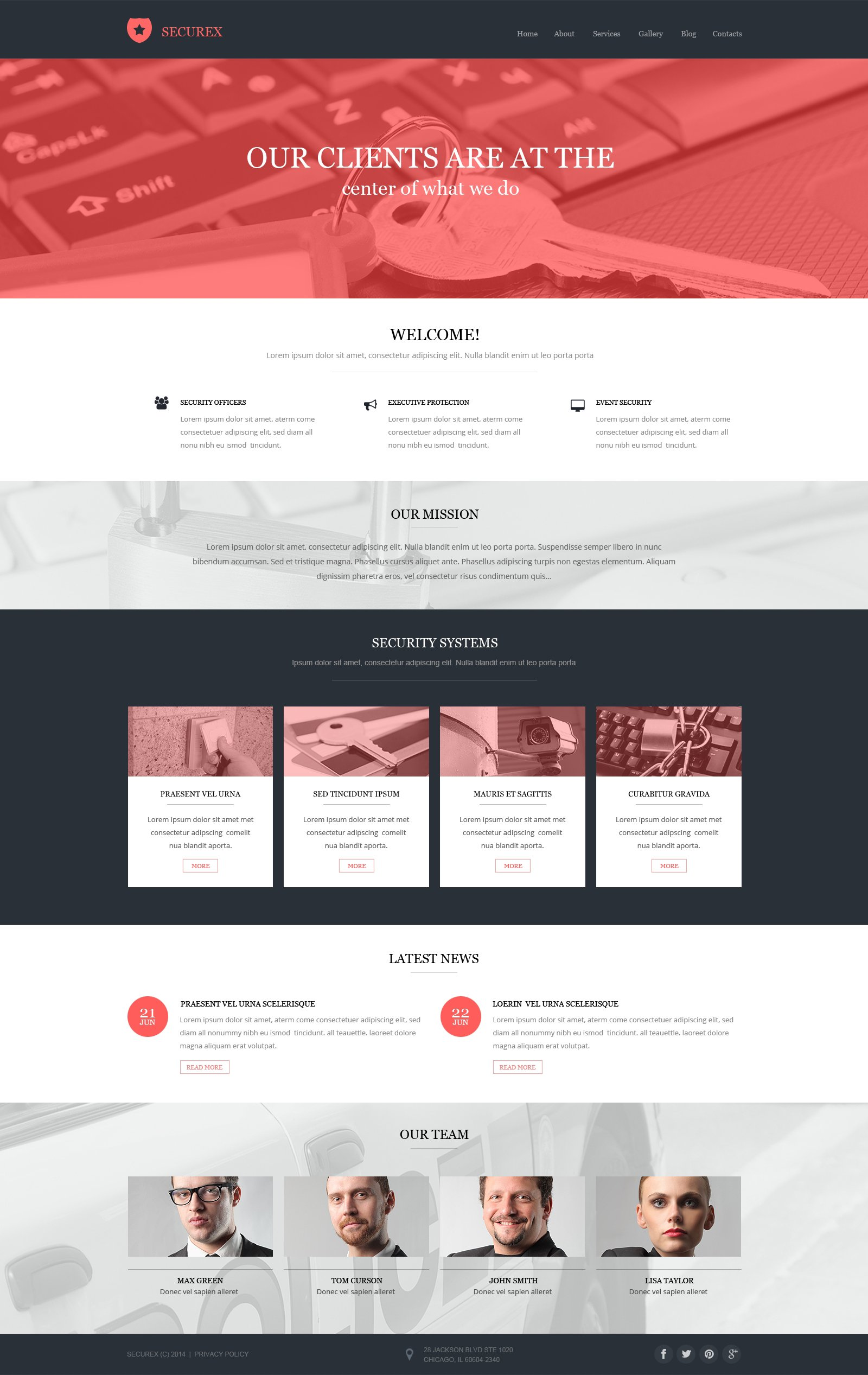information security drupal template 50507
