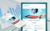 Modèle Moto CMS HTML  pour un conseiller financier New Screenshots BIG