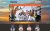 Responsive Dövüş Sanatları Joomla Şablonu New Screenshots BIG