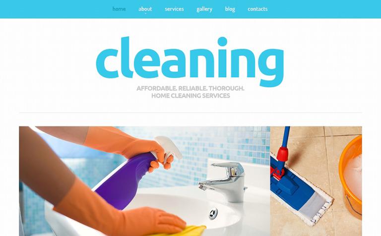 Joomla Vorlage #50593 für Reinigung
