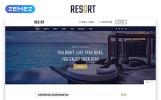 Responsywny szablon strony www Resort - Hotel Multipage Modern HTML Bootstrap #50553