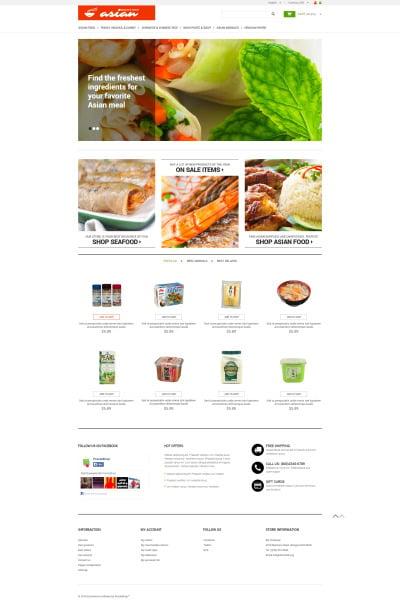 Grocery Store Responsive PrestaShop Motiv